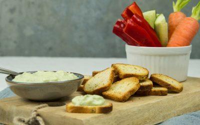 Toasty's Kruidenboter met avocado dip