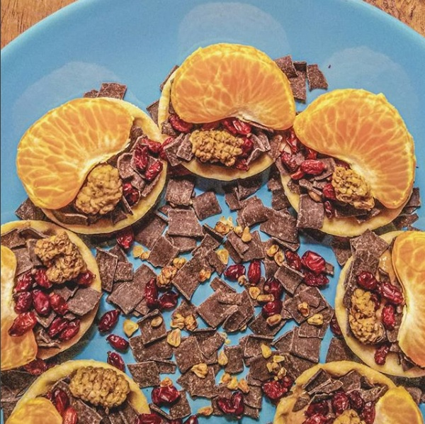 Krokante cupjes sweet delight