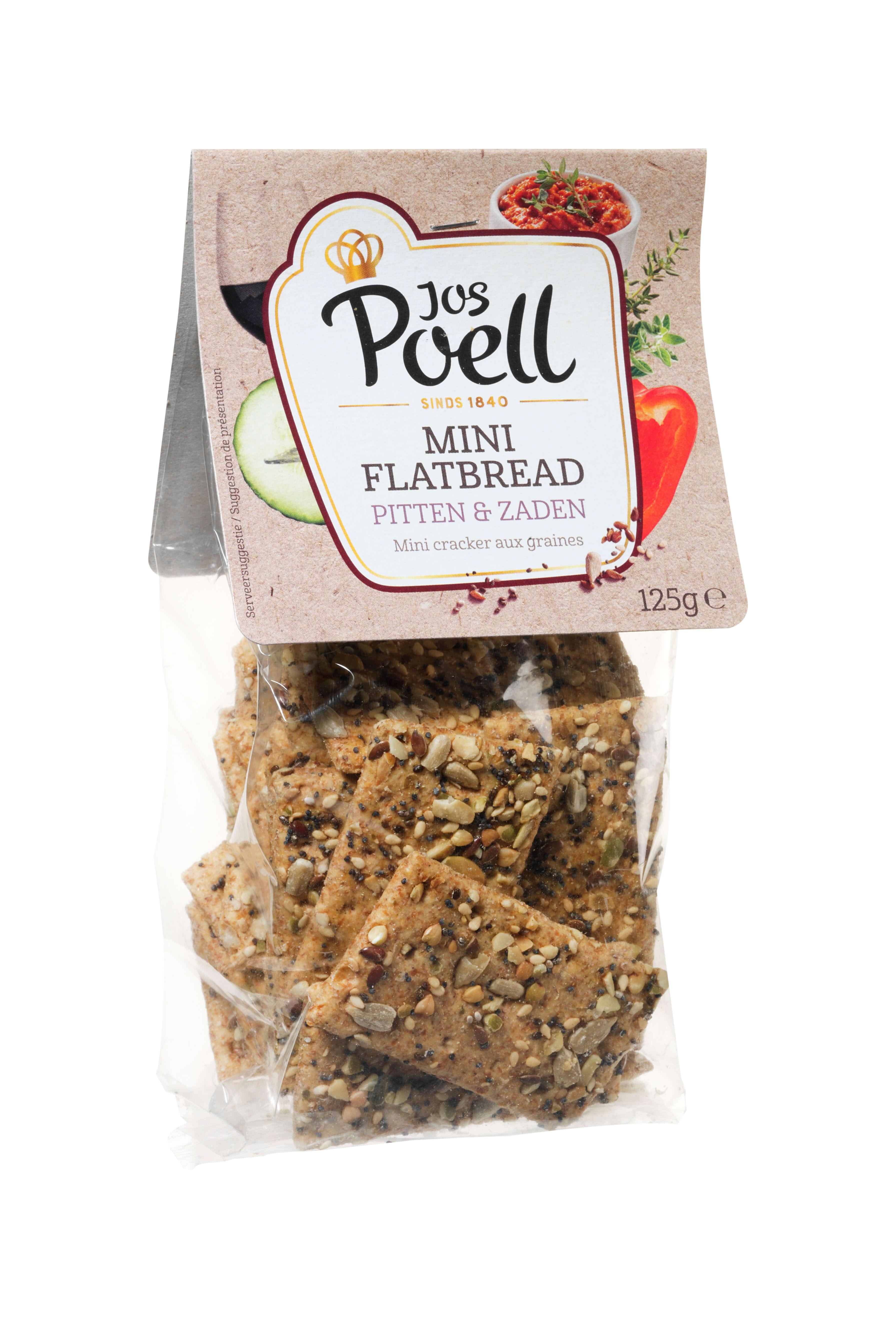 Mini Flatbread met Pitten & Zaden