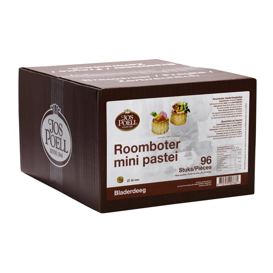 Roomboter mini pastei