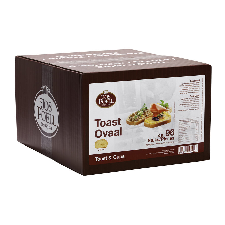 Toast ovaal