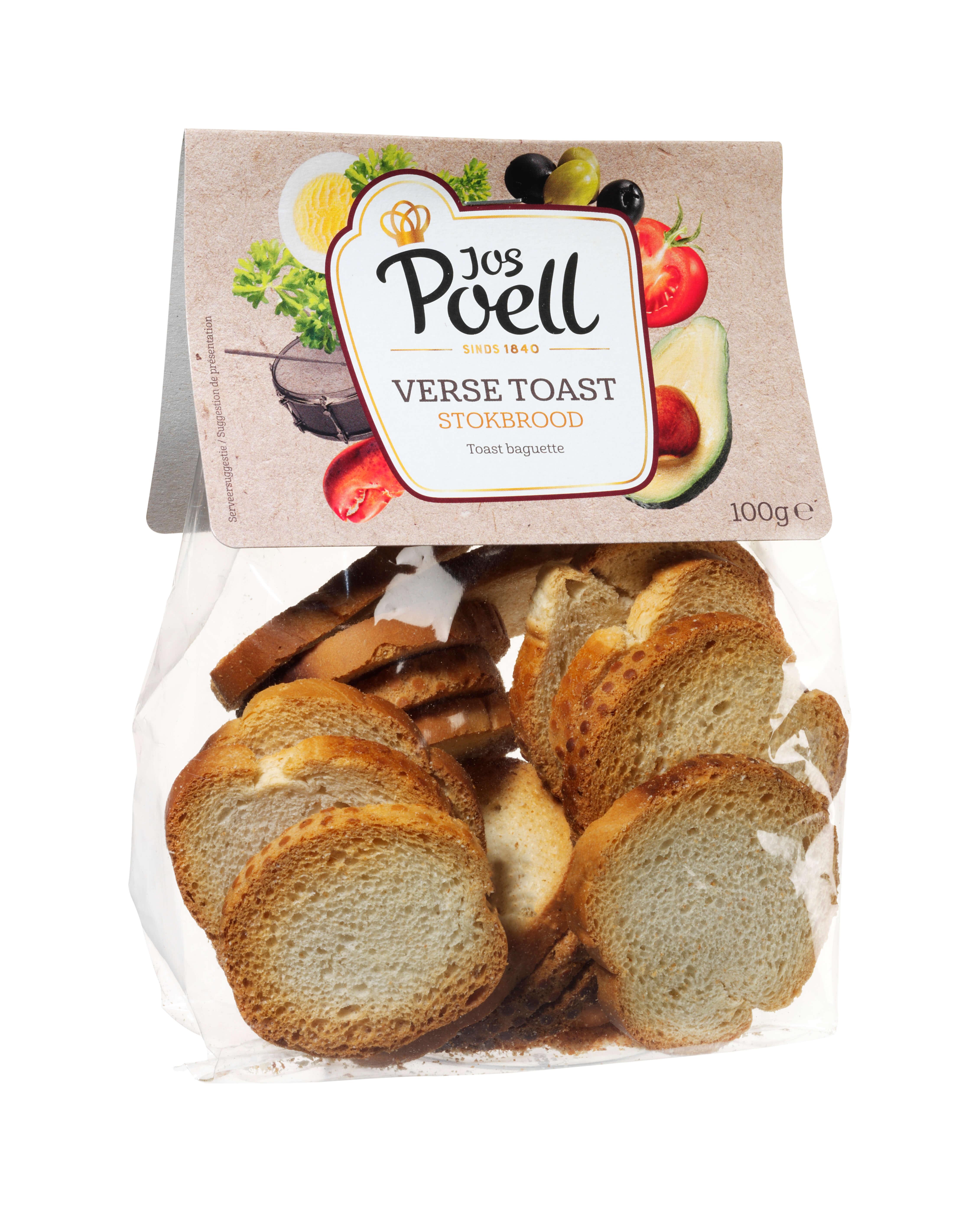 Verse Toast Stokbrood